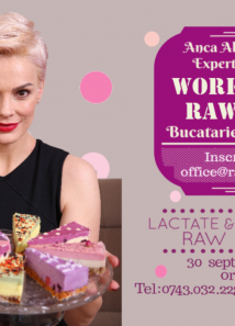 Workshop. Lactate si branzeturi raw vegan