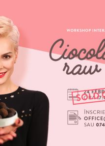 Workshop. Ciocolata raw vegan